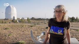 Una imagen del documental a su paso por el Observatorio de Calar Alto.