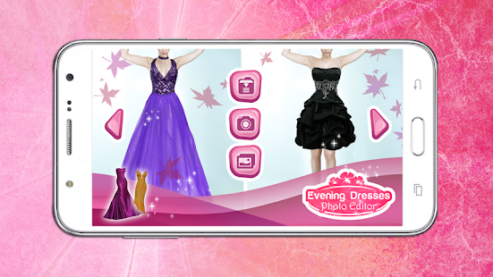 Evening Dresses Edit Photo Montage - Dress up Game - náhled