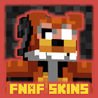 """Skins pack """" FNAF """" for MCPE mine maps! icon"""