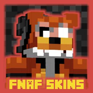 "Skins pack "" FNAF "" for MCPE mine maps!"