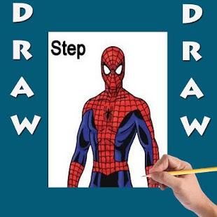 Jak nakreslit Spiderman - náhled
