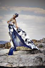 """Photo: Téma výstavy: """"Fashion & glamour"""" - Hvar 2011 (na fotografiích jsou k vidění české modelky). Autor: Marcel Chrubasík, student 2. A. Na této fotografii je modelka Miriam."""