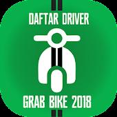 Tải Daftar Driver GrabBike 2018 miễn phí