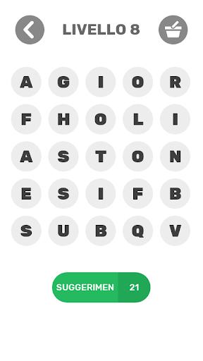 Indovina Parole - Gioco di parole gratis 1.6.9z screenshots 6