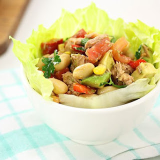 Tuna Salad Lettuce Cups