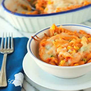 Penne Pasta And Cheese Bake