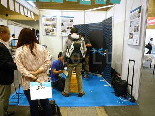 展示会 インテックス大阪 産業ロボット開発技術展 その9 ケイエフ
