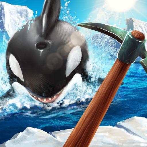 Winter Survival On Raft 3D