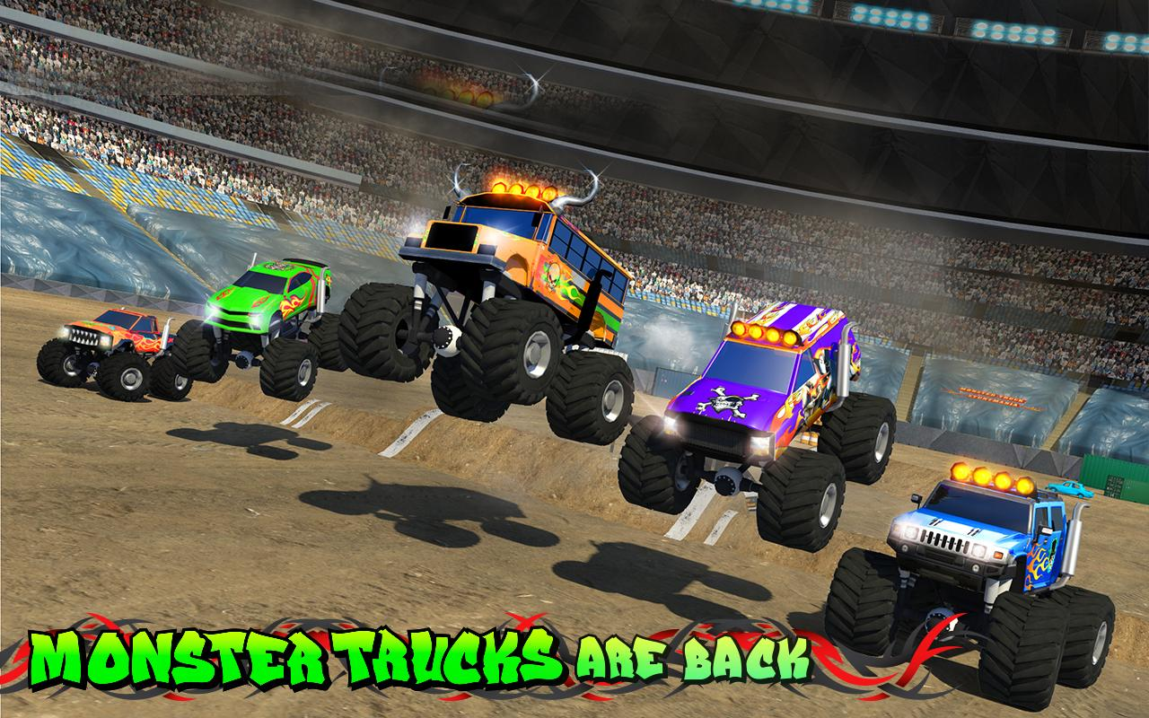 Monster Truck Speed Stunts Android Apps On Google Play