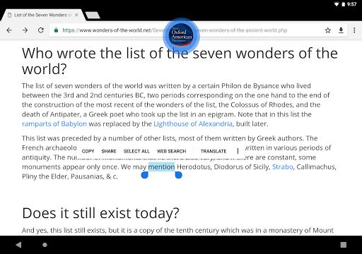 New Oxford American Dictionary  screenshots 20