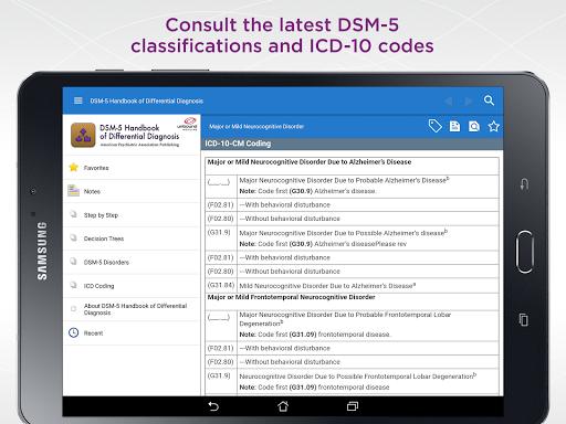 DSM-5 Differential Diagnosis 2.7.80 screenshots 10