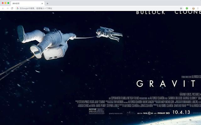 Gravity Popular Movies New Tabs HD Themes