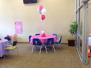 Photo: princess party-centerpiece
