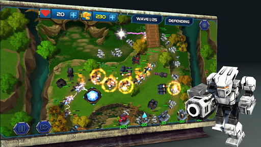 Tower Defense Zone - Kingdom Rush Fantasy Wars TD 1.0.11 screenshots 2
