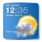 Digital Clock Weather Widget 1.6 Apk