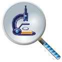 Free Magnifying glass & Magnifier & Microscope app icon