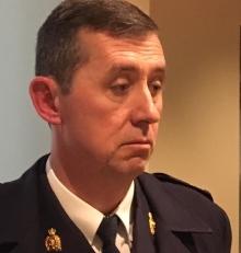 RCMP K Division Assistant Commissioner Marlin Degrand