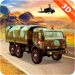 Off Road Drive Army Truck Simulation Icon