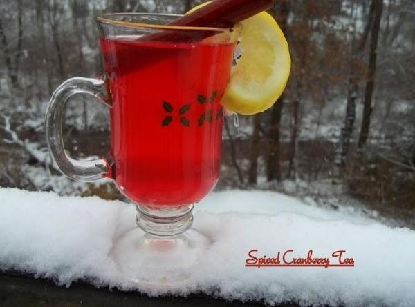 Spiced Cranberry Tea Recipe