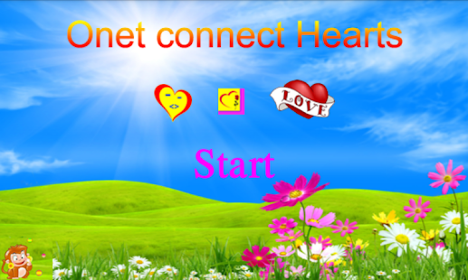 Onet Connect Hearts - náhled