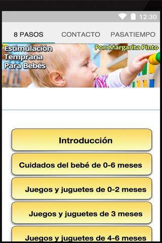 Estimulación Temprana Bebés