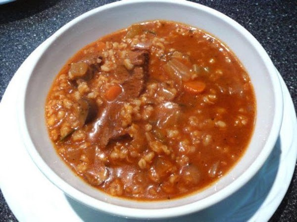 Heartwarming Beef-barley Soup Recipe