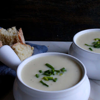 Vichyssoise - Cold Potato & Leek Soup.