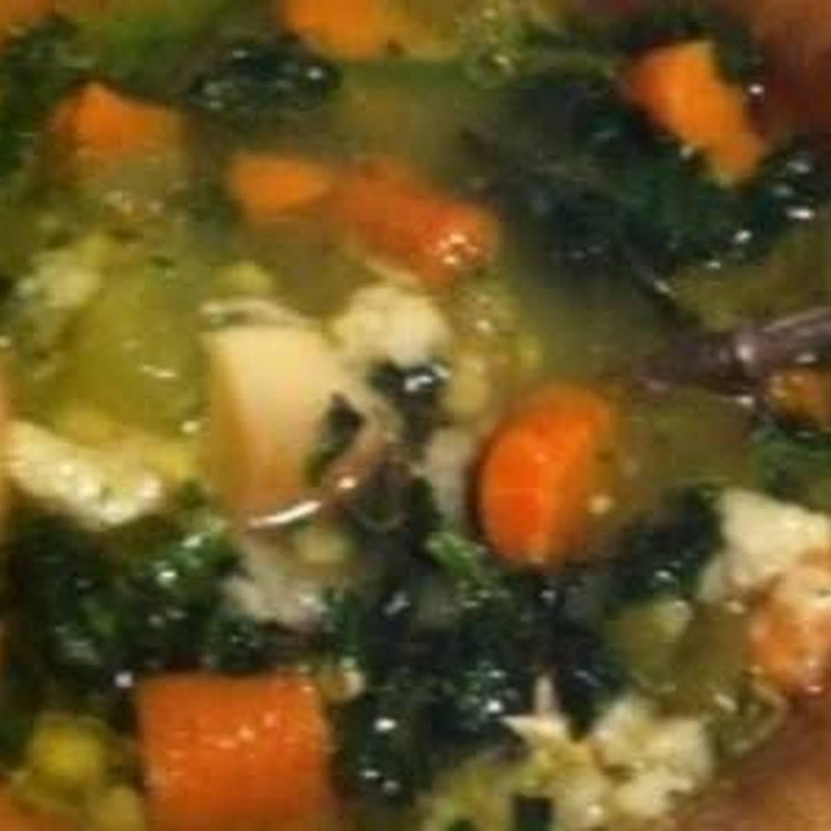 Lindas Own Super Healing Chicken Soup