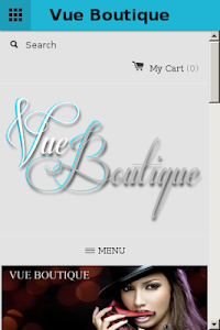 Vue Boutique screenshot 1