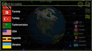 Screenshot of Earth 3D