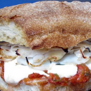 Chicken, Mozzarella and Spicy Relish Panini