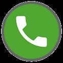 S6 Green Dark Theme to Dialer icon