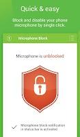Screenshot of Mic Block - Anti spy & malware
