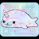 Rainbow Seal Unicorn Keyboard Theme apk