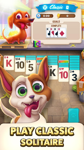 Solitaire Pets Adventure - Free Classic Card Game 1.97.645 screenshots 1
