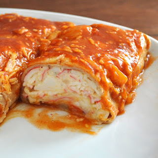 Seafood Enchiladas with Imitation Crab Recipe