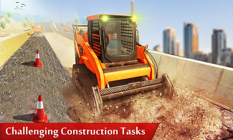 Dumper Truck Driver & Construction Crane Operator- screenshot