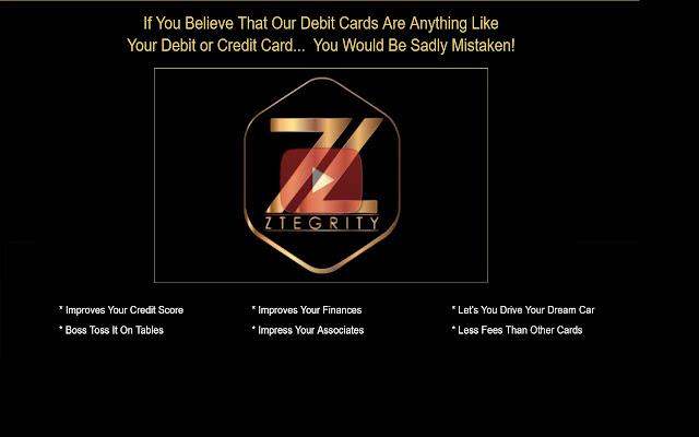 ZBlackCard Luxury Metal Prepaid Debit Card