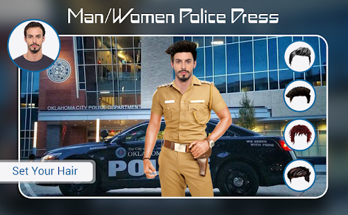 Download Police Photo Suit : Men - Women Police Dress For PC Windows and Mac apk screenshot 5