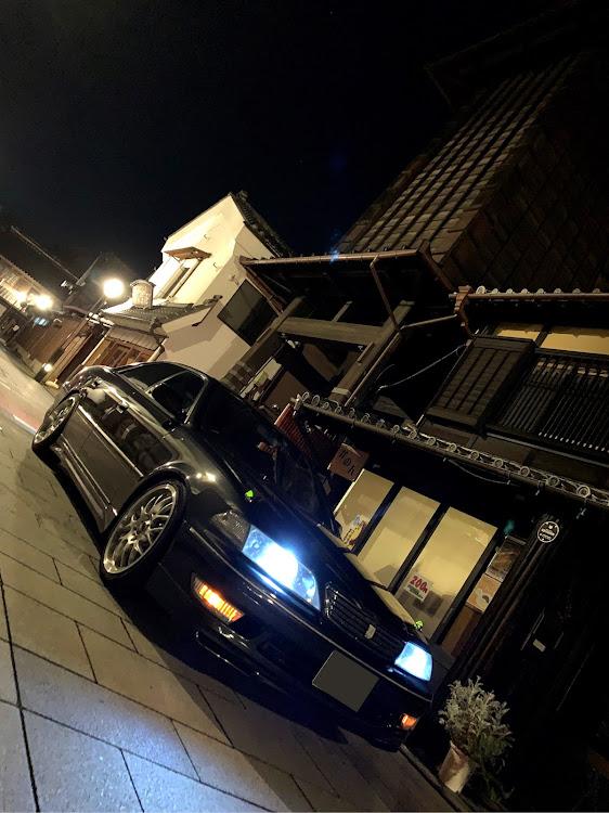 マークII JZX100のSSS(saitama street stage),小江戸川越,時の鐘,スタバに関するカスタム&メンテナンスの投稿画像1枚目