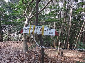 ここは正規の登山道
