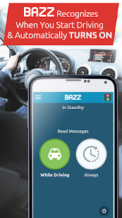 BAZZ Text While Driving Safe - náhled