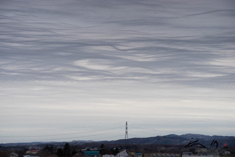 不思議な空模様
