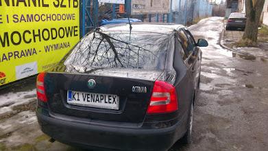 Photo: Skoda Octavia 2 przyciemnianie foliowanie szyb ,oklejanie , foliowanie ,folie profesjonalne metalizowane ,termokurczliwe z ATESTEM!!!! tylko w venaplex.pl