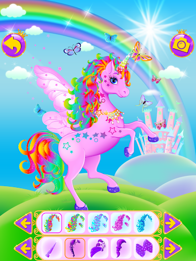 Unicorn Dress Up - Girls Games  {cheat|hack|gameplay|apk mod|resources generator} 5