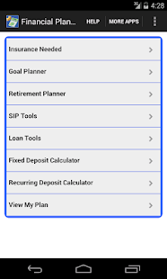 Financial Planner- screenshot thumbnail