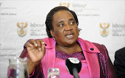 FILE PICTURE: April 9, 2014.  Mildred  Oliphant , Minister  of  Labour  at Employment Equity Indaba.