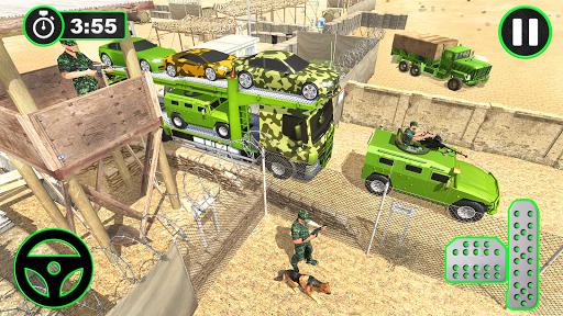 Army Vehicles Transport Simulator:Ship Simulator screenshot 14