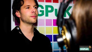 Photo: spaetschicht.tv beim Get Together der DGPuK 2014    Foto: Janertainment Janine Amberger