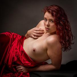 Homage to Elizabeth Siddal by Shawn Crowley - Nudes & Boudoir Artistic Nude